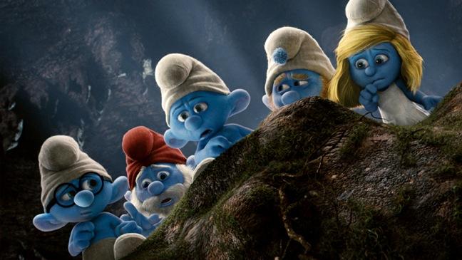 8. The Smurfs