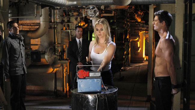 Rebecca Romijn Chuck TV Still - H 2011