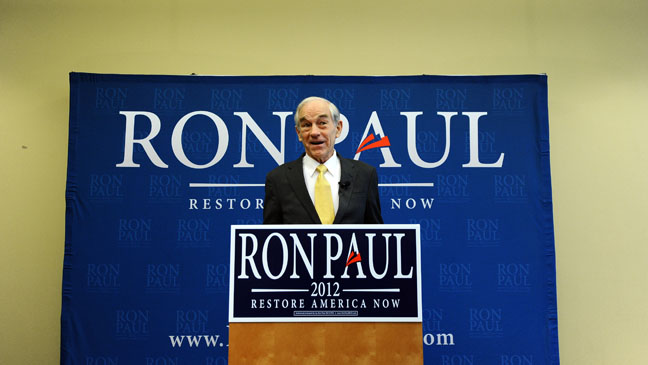Ron Paul 2012 Candidate - H 2011