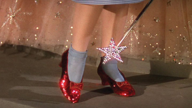 Dorothy's Ruby Red Slippers from 'The Wizard of Oz'