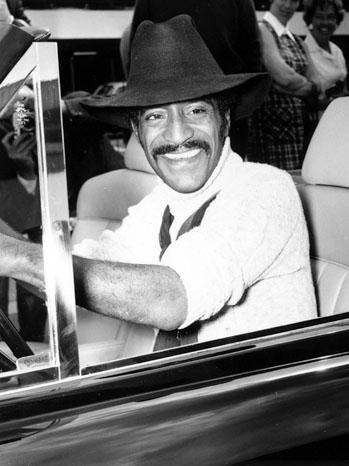 Sammy Davis Jr. Driving Car - P 2011