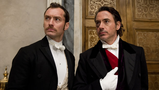 Sherlock Holmes Game of Shadows Robert Downey Jude Law - H 2011