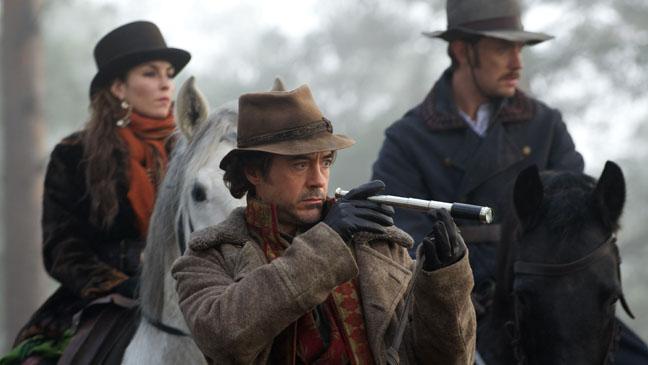 Sherlock Holmes Game of Shadows 3 Shot Film Still - H 2011