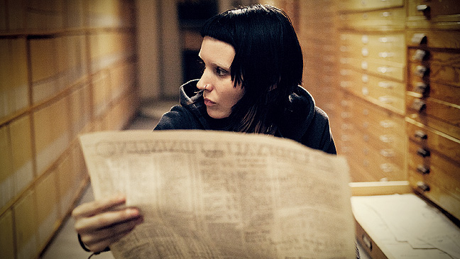 """Rooney Mara in """"The Girl With the Dragon Tattoo."""""""