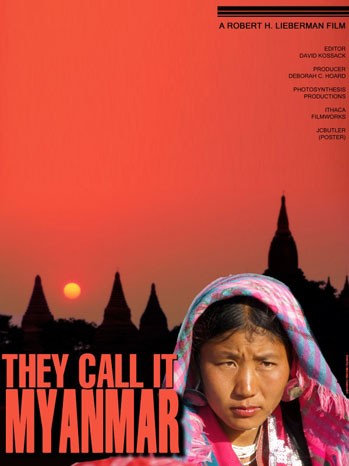 They Call It Myanmar Poster - P 2011