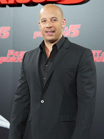 Vin Diesel Fast Five Premiere - P 2011