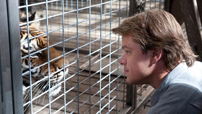 We Bought a Zoo Matt Damon Tiger