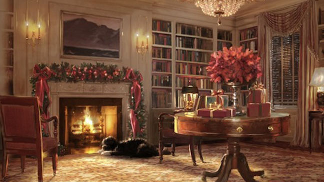 White House Holiday Card - H 2011