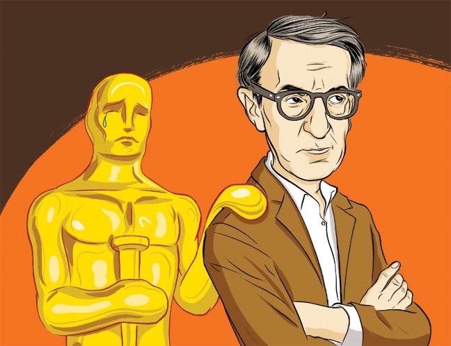 46 BIZ Woody Allen Illustration H