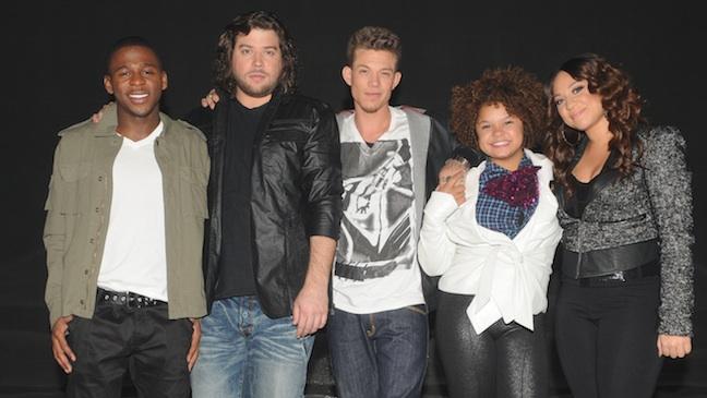 X Factor Top 5 2011