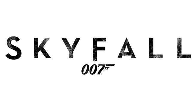 007 Skyfall Logo - H 2012