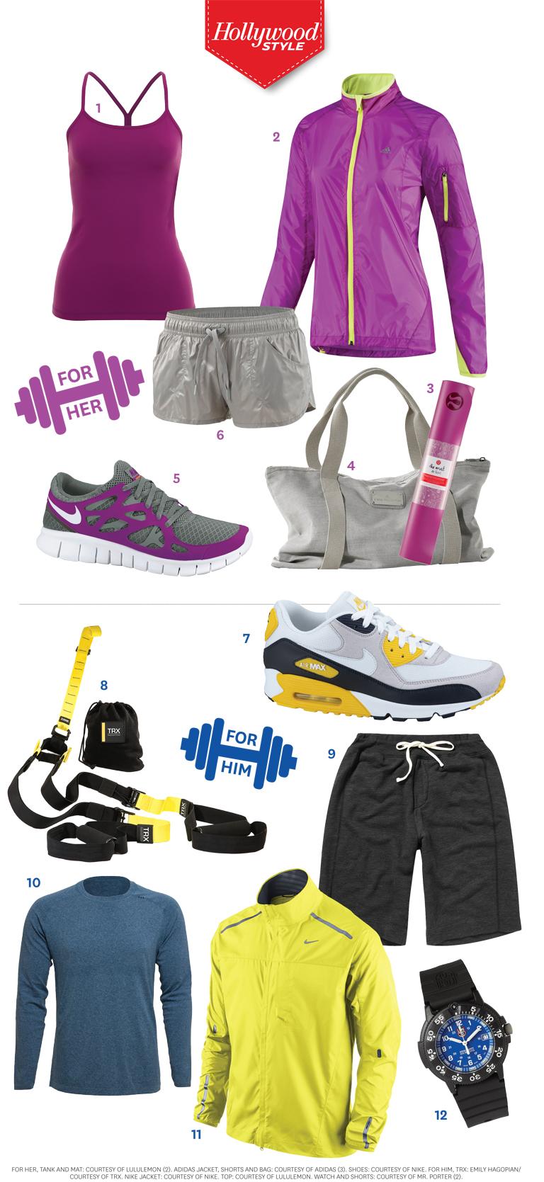 2012 - 2 STY Fitness Infographic iPad