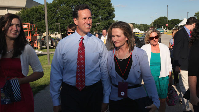 Trail Blazers: Rick and Karen Santorum