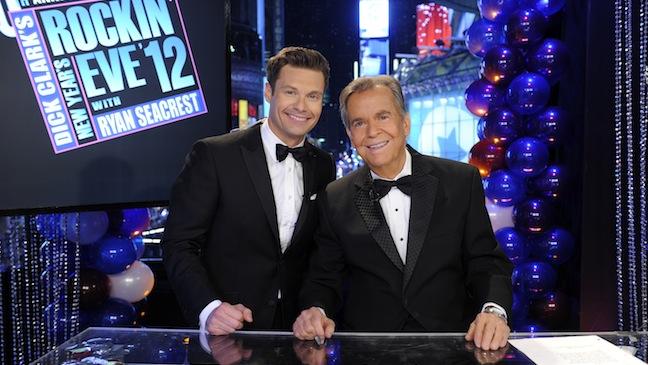 Dick Clark Ryan Seacrest New Years Eve H
