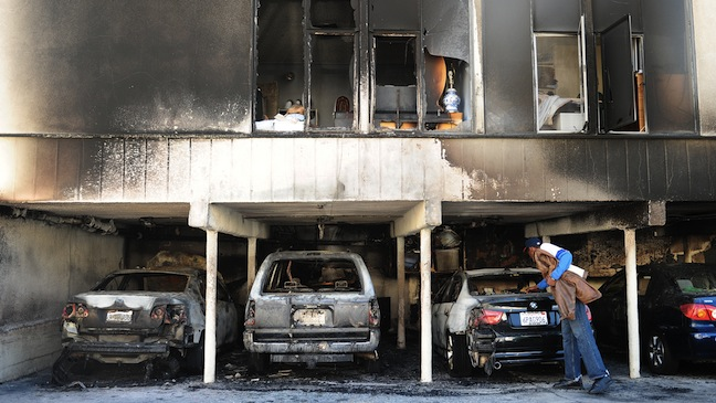 Los Angeles Arson Fires