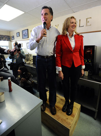 Red Guard: Mitt and Ann Romney