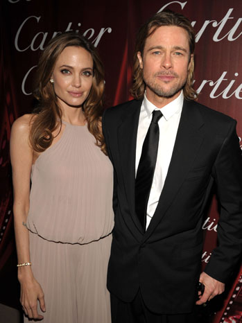 1. Angelina Jolie and Brad Pitt