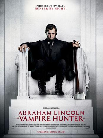 Abraham Lincoln Vampire Poster Art - P 2012