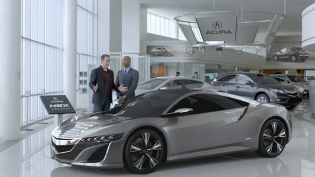 Jerry Seinfeld in Acura's Super Bowl Commercial