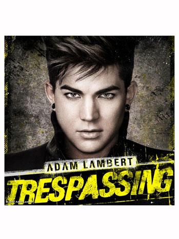 Adam Lambert Trespassing cover - P 2012