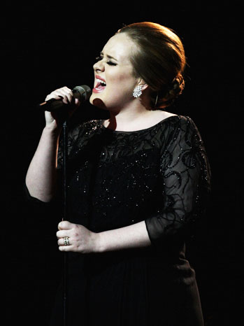 Adele Performing London - P 2012