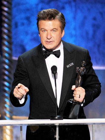 Alec Baldwin SAG Award Speech - P 2012