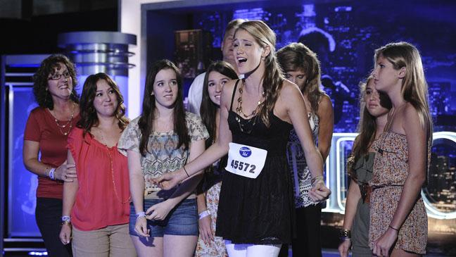 American Idol Season 11 Premiere - H 2012