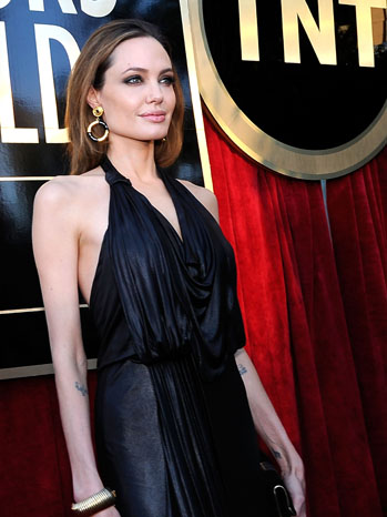 Angelina Jolie SAG Awards Red Carpet - P 2012