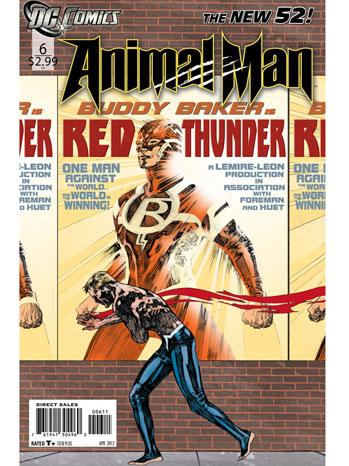 Animal Man cover P 2012
