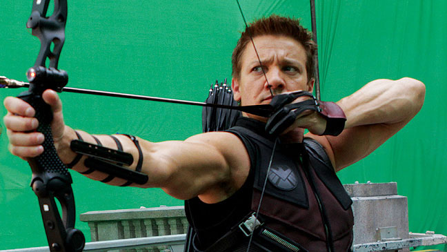 """Jeremy Renner in """"The Avengers"""""""
