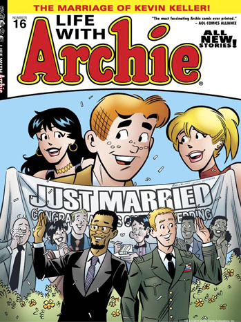 Archie Gay Marriage Issue 16 Cover - P 2012