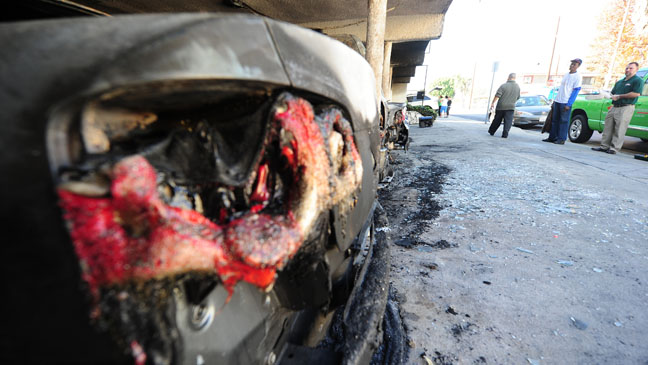 Arson Fire Brake Light - H 2012