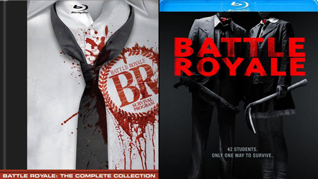 Battle Royale Blu-Ray Split - H 2012