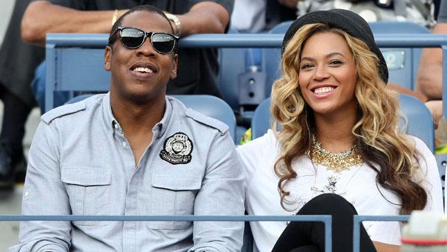Beyonce Jay Z US Open - P 2012