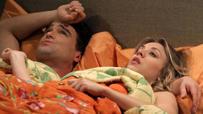 Big Bang Theory Cuoco Bed - H 2012