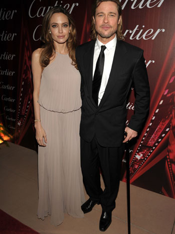 Brad Pitt Angelina Jolie Palm Springs Film Festival 2012