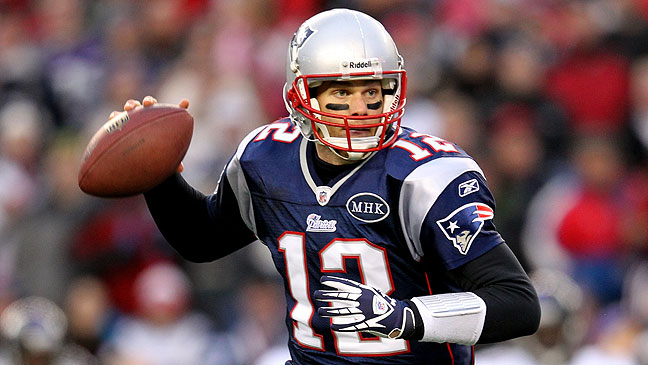 TEAM PATRIOTS: Tom Brady