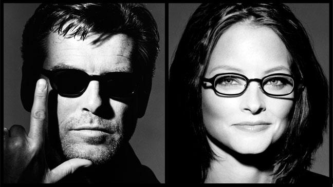 Pierce Brosnan Jodie Foster Eyewear Split - P 2012