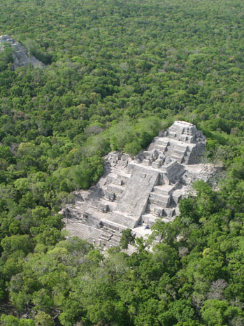 Calakmul Archaeological Site - P 2012