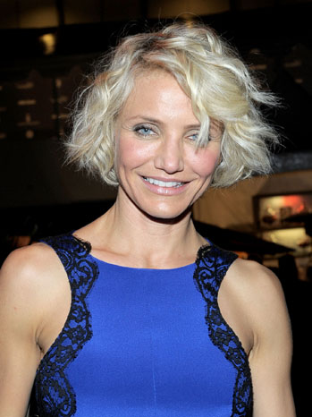 Cameron Diaz New Hair Short - P 2012