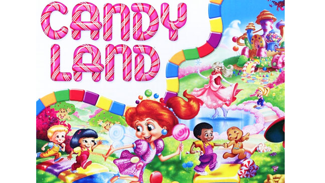 Candyland Board Game - H 2012