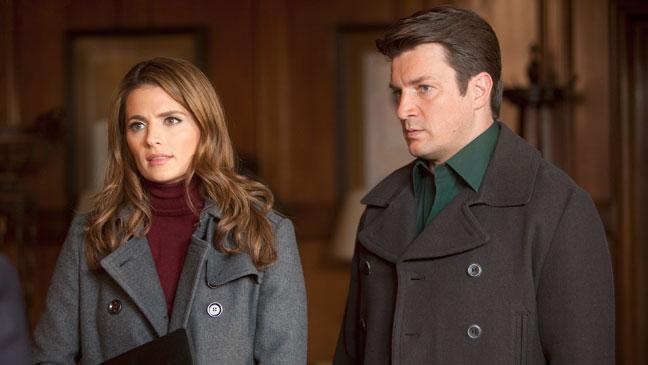 Castle Stana Katic Nathan Fillion - TV Still: 1/16 - H 2012