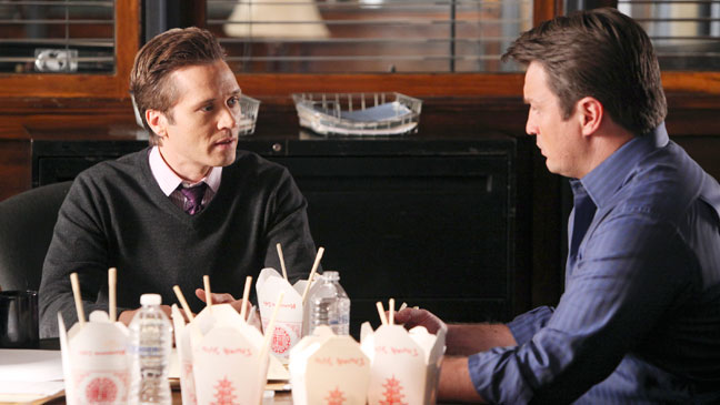 Castle Seamus Dever Nathan Fillion - 1/9/12 - H 2012