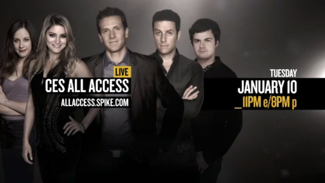 CES All Access Live Spike TV