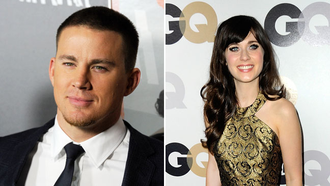 Channing Tatum Zooey Deschanel Split - H 2012
