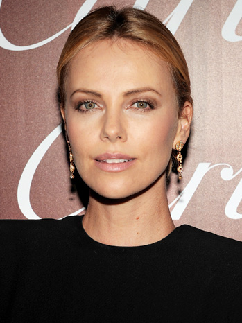 POWER LUNCH: Charlize Theron