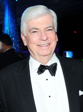Chris Dodd Golden Globes NBC After Party - P 2012