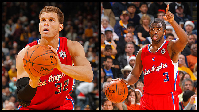 2 STY Clippers Blake Griffin Chris Paul H