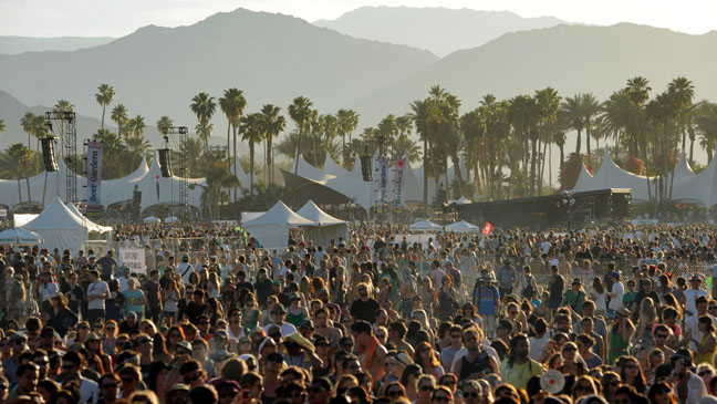 Coachella Music Festivsal California - H 2012