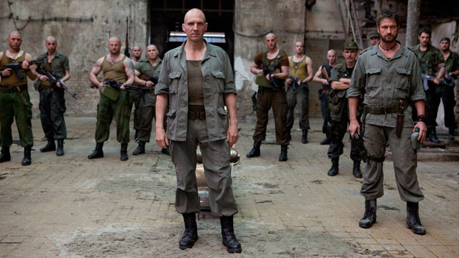 Coriolanus Gerard Butler Ralph Fiennes Still - H 2012